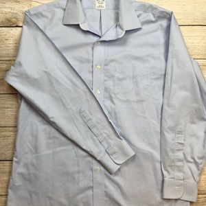 BROOKS BROTHERS Slim fit non iron dress shirt 16.5